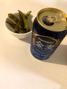 缶を開けた