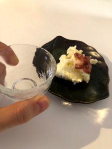 日本酒とともに